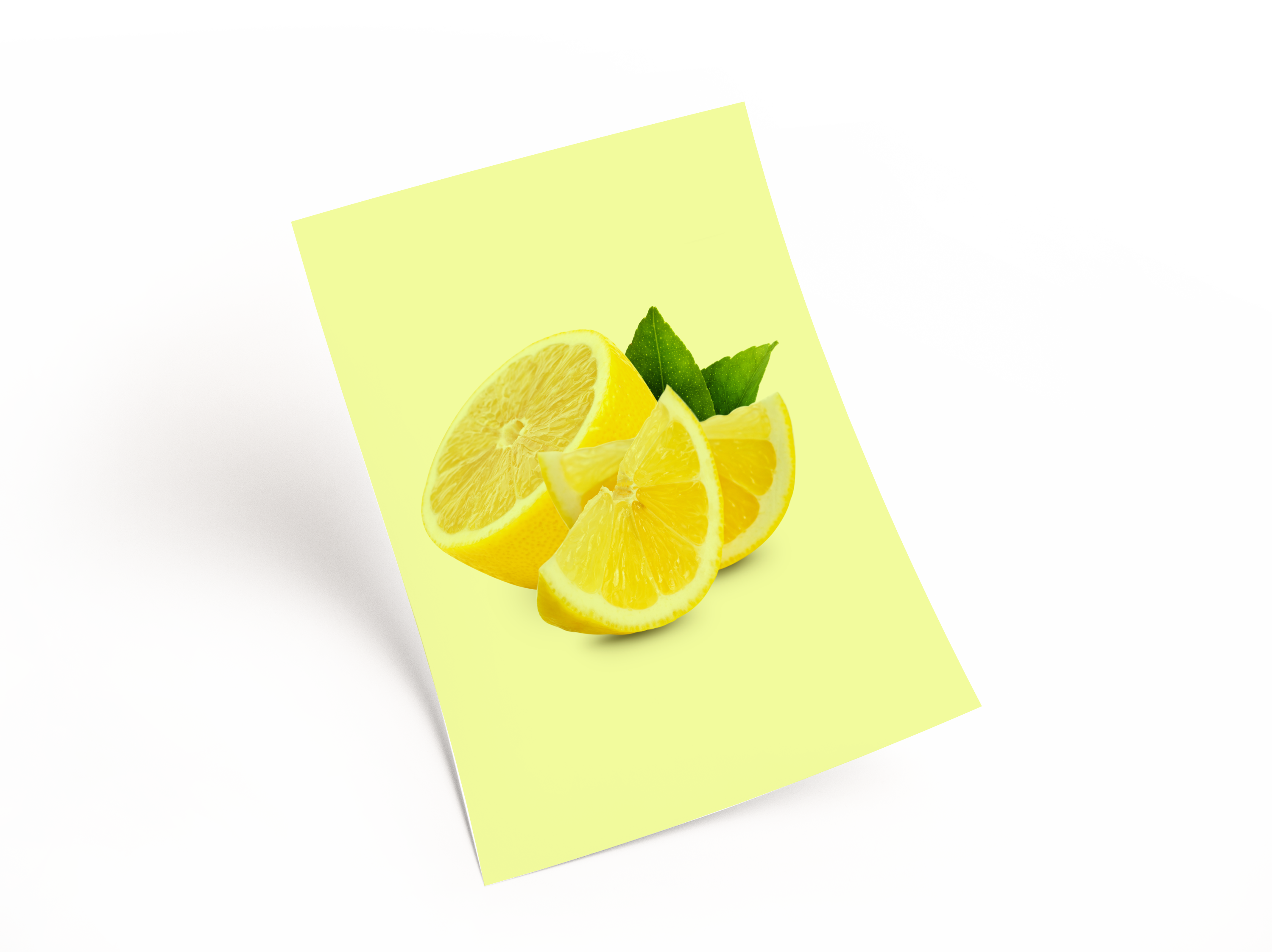 Leaflet Lemon